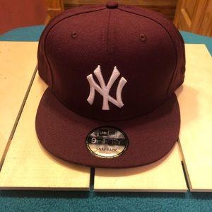 MLB NY Yankees Maroon SnapBack
